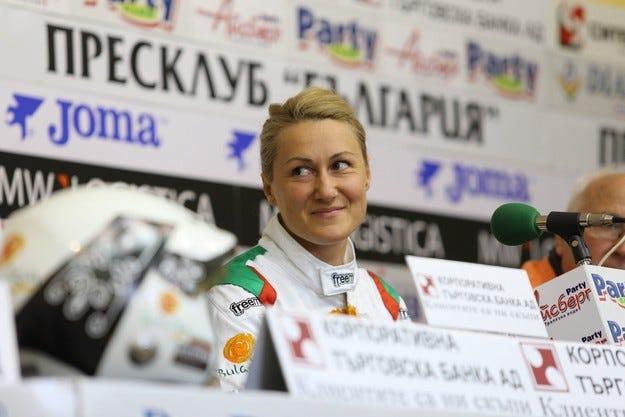 БФАС финансира Стратиева за участията й в Европейския шампионат