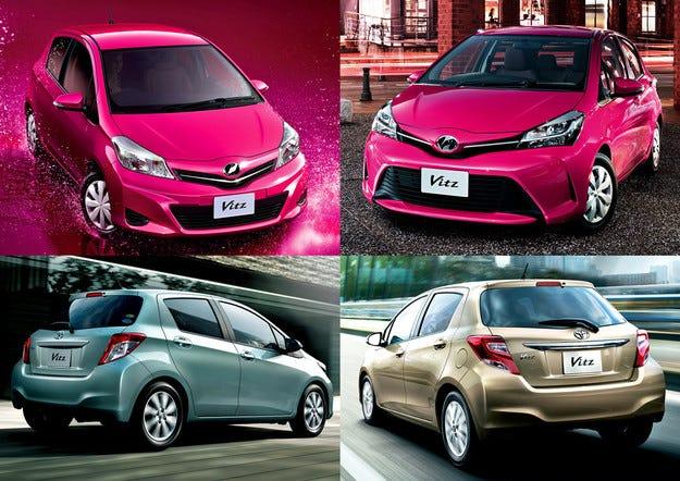 Обновеният хечбек Toyota Yaris с подобрено управление