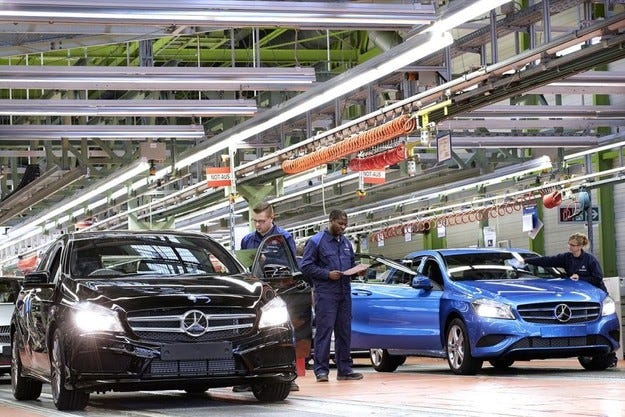 Mercedes отбелязва значителен ръст на продажбите и печалбата