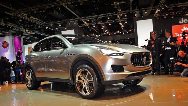 Maserati разширява гамата си до шест модела