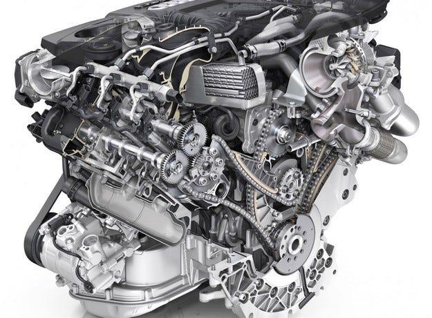 Немската компания Audi представи нов дизелов турбо мотор