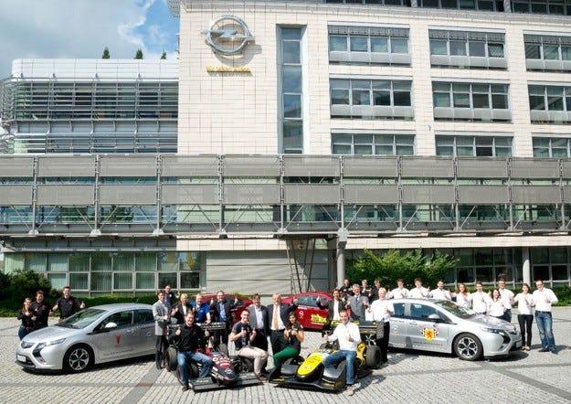 Opel разширява ангажимента си към Formula Student