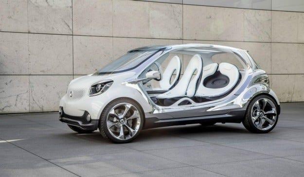 Бъдещето на Smart: Градски автомобил от сегмент B