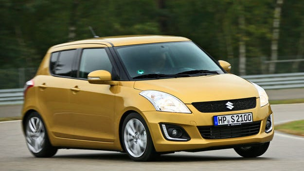 Suzuki Swift: Малкия автомобил с нов бензинов двигател