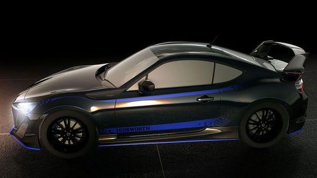 Cosworth дава нова сила на Subaru BRZ и Toyota GT 86