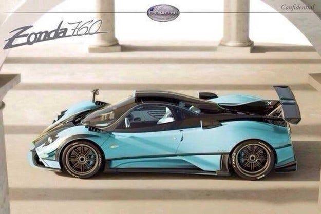 Pagani пусна специална версия на супер модела Zonda
