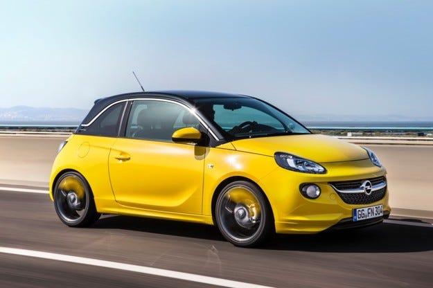 Opel ADAM за фондация Хосе Карерас