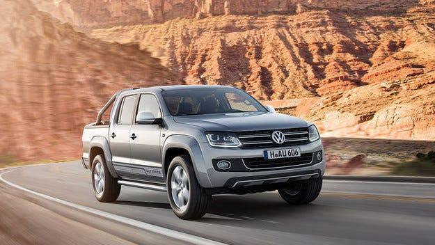 VW Amarok Ultimate: Уникален модел с ксенон и хром