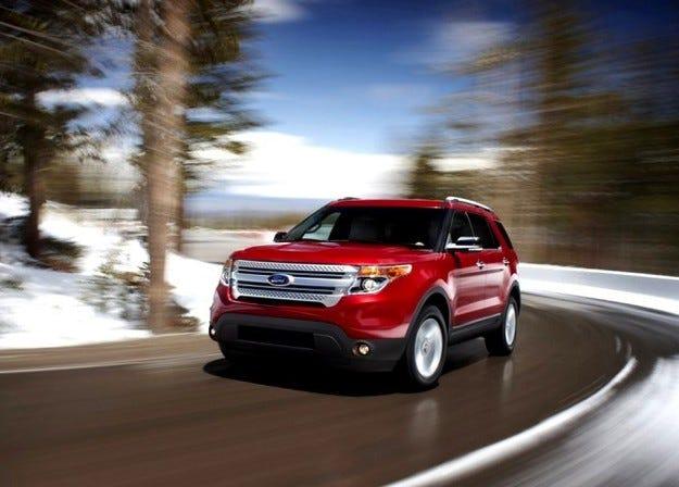 Новият Ford Explorer получава още три цвята
