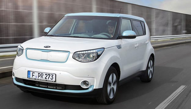 Kia пуска на конвейера първия си сериен електромобил