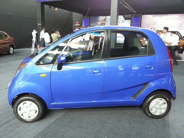 Tata Nano ще получи автоматична кутия и турбомотор