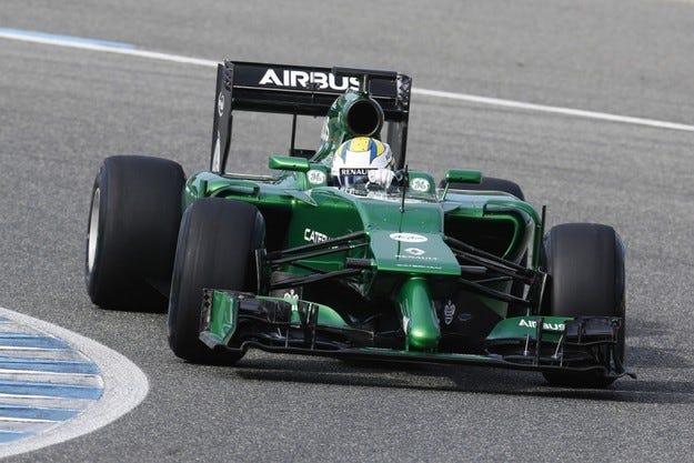 Caterham напуска Формула 1