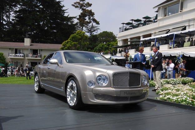 """В Париж ще представят """"напомпан"""" Bentley Mulsanne"""