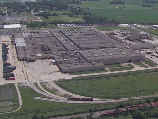 Мощен взрив в завода на General Motors в Индиана