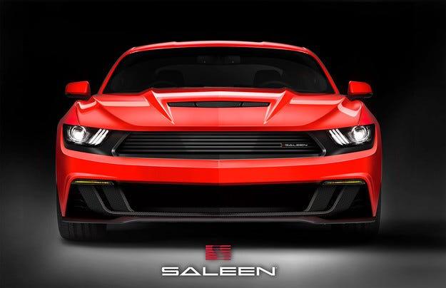 Тунинг студиото Saleen готви модифициран Ford Mustang