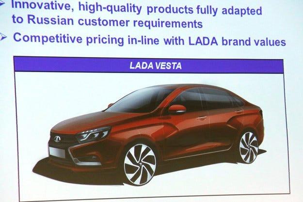 Ще продават седана Lada Vesta и в Европа