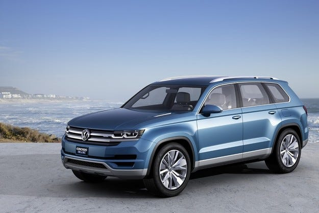 VW ще прави седемместен кросоувър Made in USA