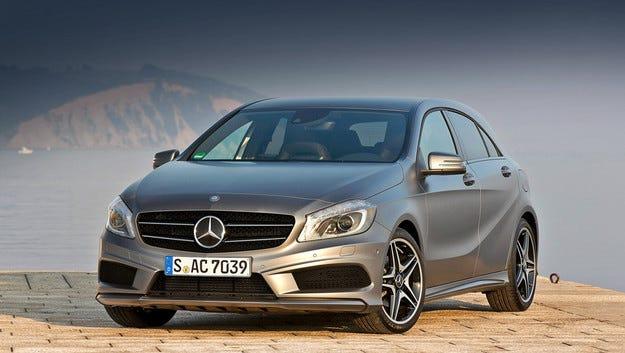 Всички във фамилията на Mercedes A-класа с нови мотори