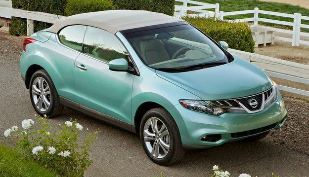 Nissan спира производството на Murano CrossCabriolet