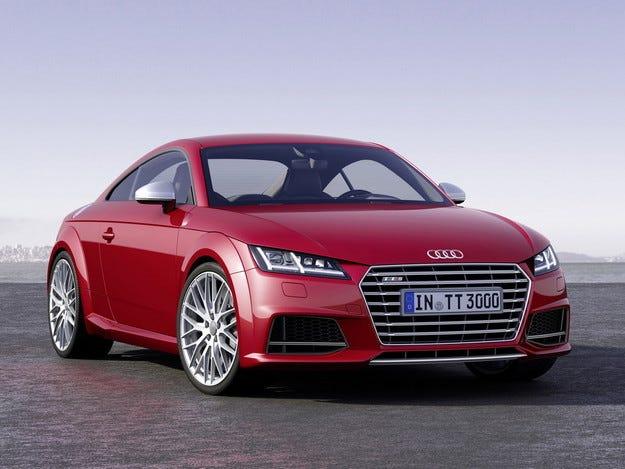 Audi пуска трета смяна за производството на новия TT