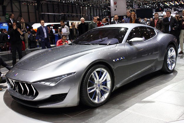 Maserati няма да продаде повече от 75 000 автомобила