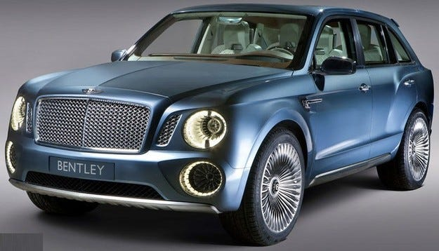 Bentley създава най-бързия кросоувър в света