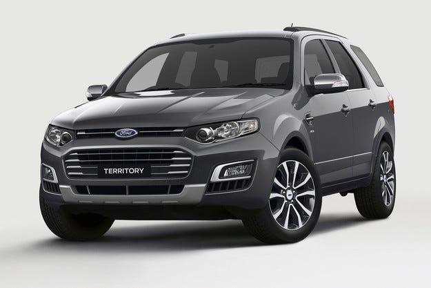 Ford представи последната версия на всъдехода Territory