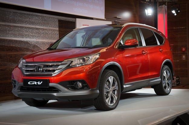 Honda CR-V е най-продаваният SUV модел в света