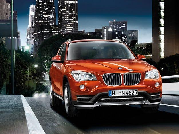 BMW X1 с предно предаване ще се появи през 2015 г.