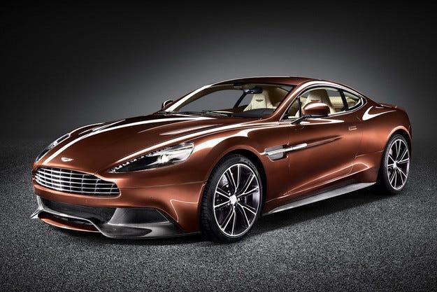 Aston Martin Vanquish и Rapide S с осемстепенен автоматик