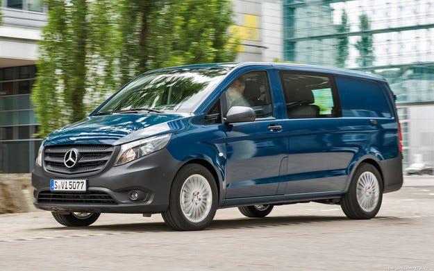 Стартира производството на новия Mercedes-Benz Vito
