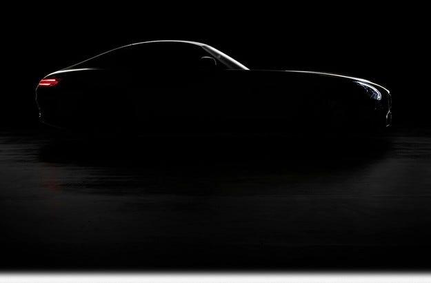 Mercedes анонсира спортния модел AMG GT