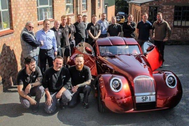 Morgan създаде ексклузивен спортен автомобил