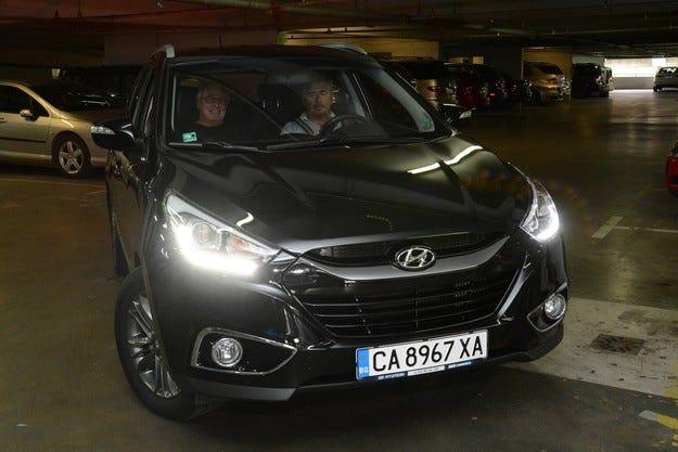 Hyundai е официален превозвач на Жан-Луи Шлесер