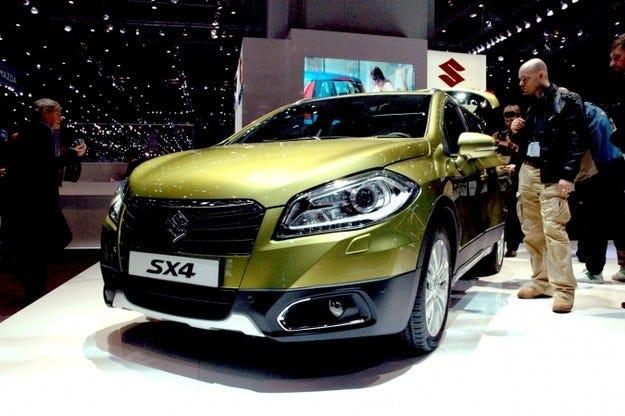 Унгарското Suzuki SX4 S-Cross с награда за качество