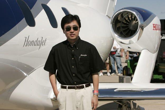 Приз за президента на Honda Aircraft Company