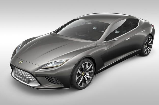 Плановете на Lotus включват нов седан и SUV
