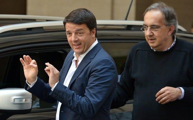 Премиерът на Италия обърна внимание на Fiat