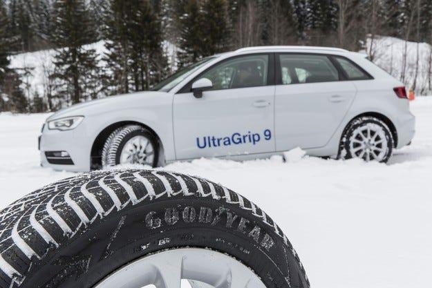 Goodyear пуска девето поколение зимна гума