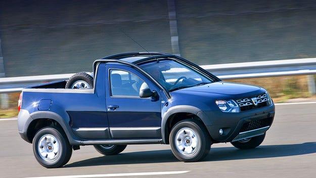 От кросоувъра Dacia Duster направиха пикап