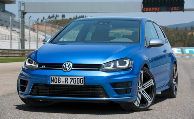 VW Golf R може да получи дизелова версия