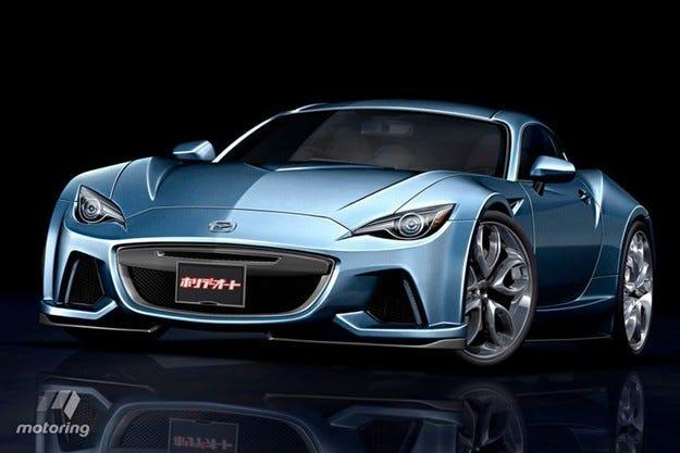 Mazda ще пусне ново купе с роторен мотор