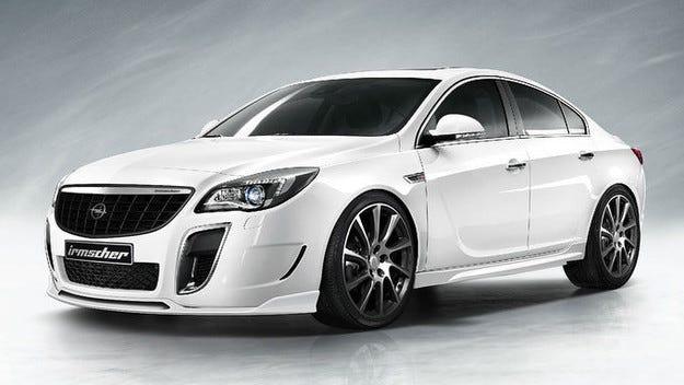 Irmscher даде на Opel Insignia OPC 374 к.с.