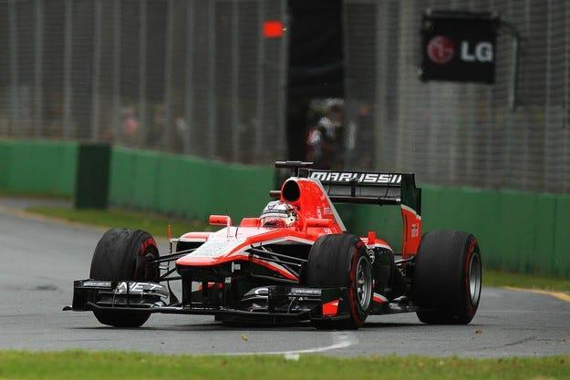Marussia също изпадна в несъстоятелност
