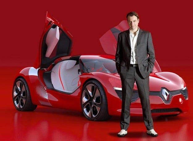 Шеф дизиайнерът на Renault готви концептуален автомобил