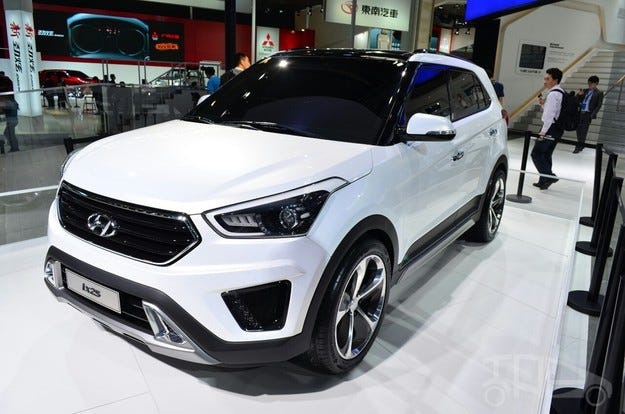 Hyundai ix25 ще бъде продаван в Европа и САЩ