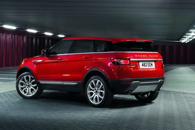 Evoque с пет врати ще бъде продаван под марката Land Rover