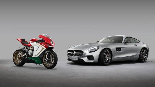 Mercedes придобива 25 % от акциите на MV Agusta