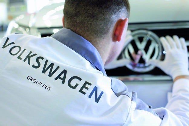 VW спира завода си в Калуга за пет дни