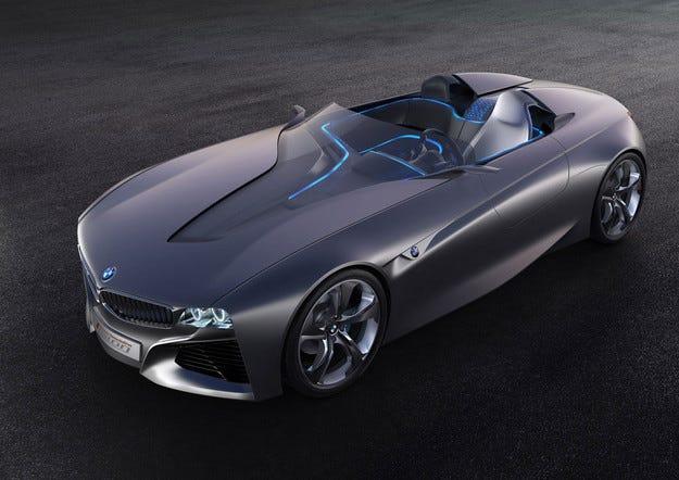 BMW и Toyota разработват концепт на нов роудстър